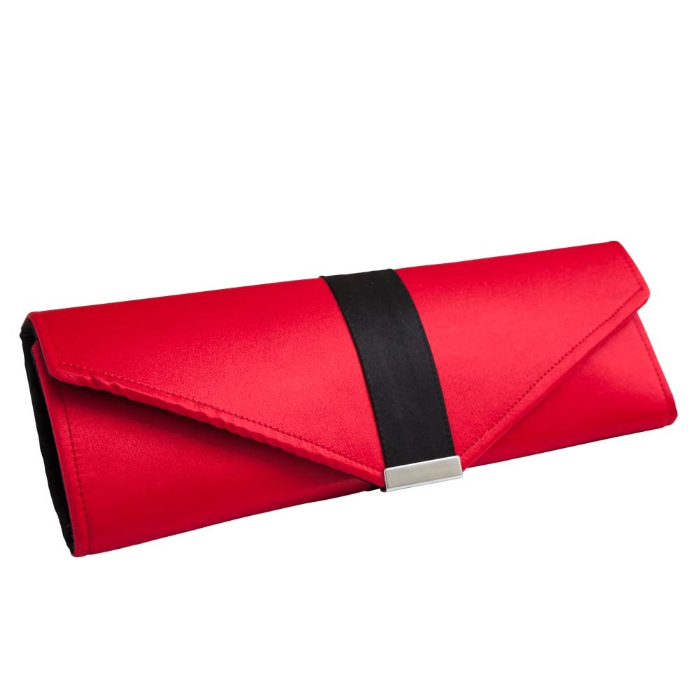 & Black Clutch Bag